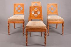 chaises galerie richard juy mobilier antiquit s et pendules d 39 poque restauration louis. Black Bedroom Furniture Sets. Home Design Ideas